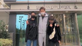 外出時の検温とマスク着用の徹底