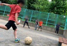 東京本校の様子「フットボール」