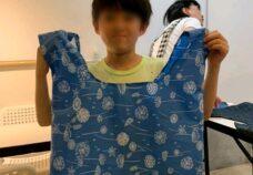 東京本校の様子「エコバッグ製作」