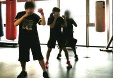 東京本校の様子「ボクシング」