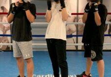 東京本校の様子「ボクシングジムへ」