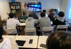 東京本校&笹塚校の様子「動画編集プログラム」